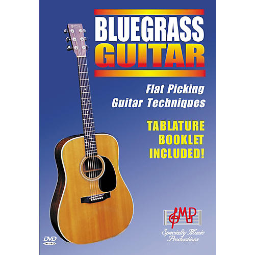 Specialty Music Productions Bluegrass Guitar - Flat Picking Guitar Techniques (DVD)-thumbnail