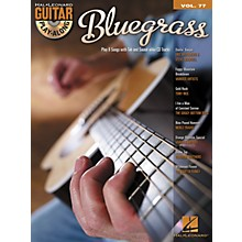 Hal Leonard Bluegrass Guitar Play-Along Volume 77 Songbook/CD