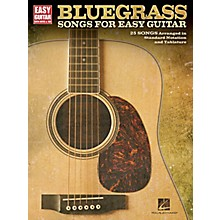 Hal Leonard Bluegrass Songs For Easy Guitar (With Tab)