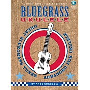 Hal Leonard Bluegrass Ukulele - A Jumpin' Jim's Ukulele Songbook Book/CD