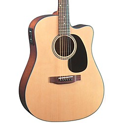 Blueridge Contemporary Series BR-40CE Cutaway Dreadnought Acoustic-Electric Guitar (BR-40CE)
