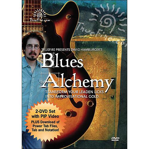 Hal Leonard Blues Alchemy - Instructional Guitar 2-DVD Pack Featuring David Hamburger-thumbnail