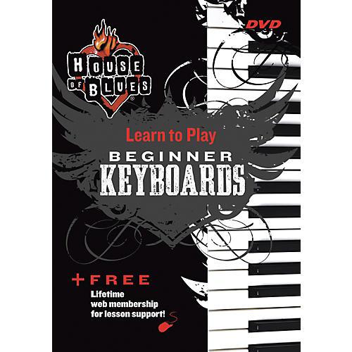 Hal Leonard Blues Beginner Keyboards DVD