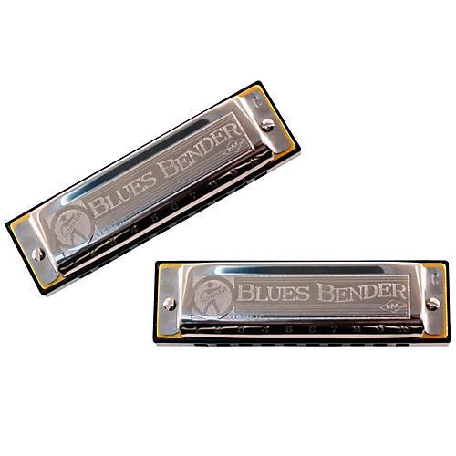 Hohner Blues Bender P.A.C. Harmonica (2 Pack)-thumbnail