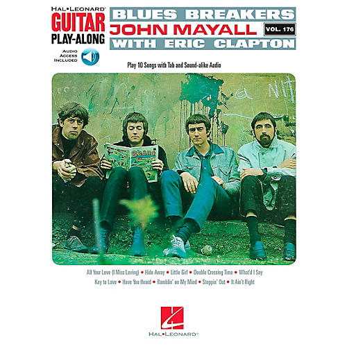 Hal Leonard Blues Breakers With John Mayall & Eric Clapton - Guitar Play-Along Book/CD-thumbnail