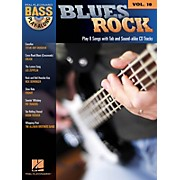 Hal Leonard Blues Rock (Bass Play-Along Volume 18) Bass Play-Along Series Softcover with CD Performed by Various