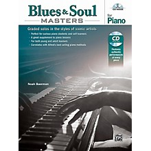 Alfred Blues & Soul Masters for Piano - Book & CD