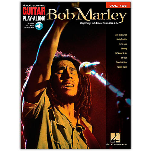 Hal Leonard Bob Marley - Guitar Play-Along Volume 126 (Book/Online Audio)-thumbnail