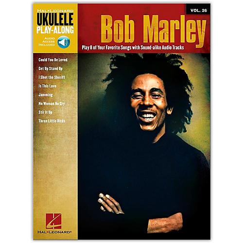 Hal Leonard Bob Marley - Ukulele Play-Along Vol. 26 Book/Online Media-thumbnail