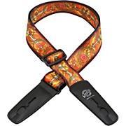 Lock-It Straps Bob Masse Rock Art Leather End Guitar Strap