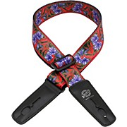 Lock-It Straps Bob Masse Rock Art Leather End Guitar Strap