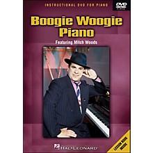 Hal Leonard Boogie Woogie Piano - DVD Featuring Mitch Woods