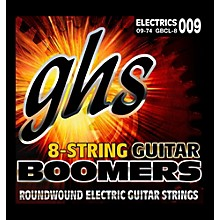 GHS Boomer 8 String Custom Light Electric Guitar Set (9-74)