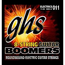 GHS Boomer 8 String Heavy Electric Guitar Set (11-85)