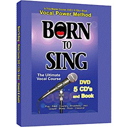 Born to Sing Vocal Master Course (DVD + 5 CD's + Book) (BTS-MC)