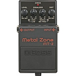 Boss MT-2 Metal Zone Effects Pedal (MT-2)