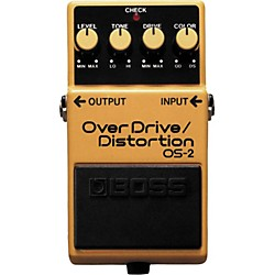 Boss OS-2 Overdrive/Distortion Guitar Effects Pedal (OS-2)