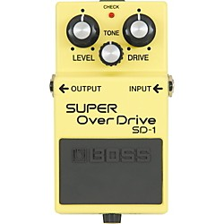 Boss SUPER OverDrive SD-1 Pedal (SD-1)