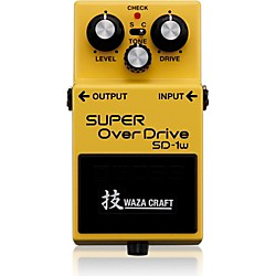 Boss Super Overdrive Waza Craft Guitar Effects Pedal (SD-1W)