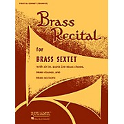 Rubank Publications Brass Recital (for Brass Sextet) (Bass/Tuba in C (B.C.)) Ensemble Collection Series