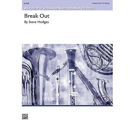Alfred Break Out Concert Band Grade 1.5 Set-thumbnail