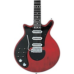 Brian May Guitars Brian May Signature Left-Handed Electric Guitar (BMW-REDLH)
