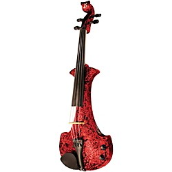 Bridge Aquila Series 4-String Electric Violin (EV4-RED/M)