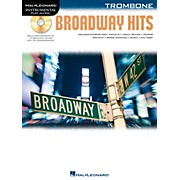 Hal Leonard Broadway Hits For Trombone - Instrumental Play-Along Book/CD