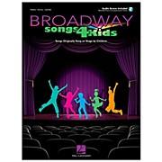 Hal Leonard Broadway Songs for Kids Book/CD