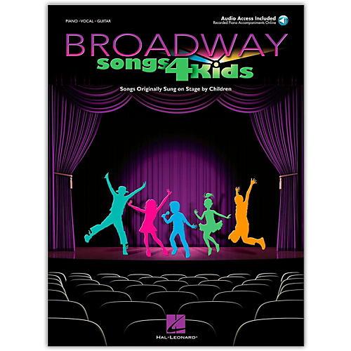 Hal Leonard Broadway Songs for Kids (Book/Online Audio)-thumbnail