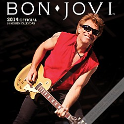 Browntrout Publishing Bon Jovi 2014 Calendar Square 12x12 (9781465030948)