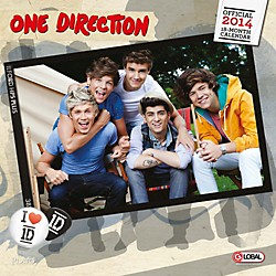 Browntrout Publishing One Direction 2014 Calendar Square 12x12 (9781465015051)