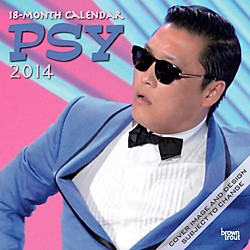 Browntrout Publishing PSY: Official Gangnam Style 2014 Calendar Square 12x12 (9781465019981)