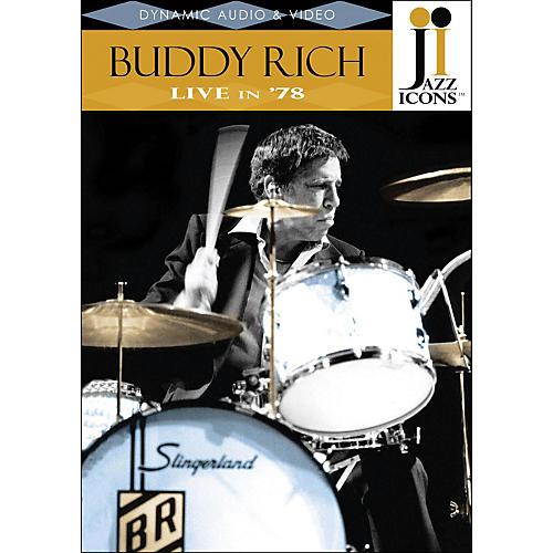 Hal Leonard Buddy Rich Live In '78 DVD Jazz Icons-thumbnail