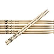 Vater Buy 3 Pair Mike Johnston 2451 Hickory Sticks Get 1 Maple Pair Free