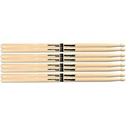 PROMARK Buy 3 Pairs of American Hickory Wood Tip 5A Sticks and Get One Pair of 5A Wood Tip Sticks Free