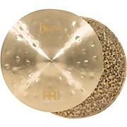 Meinl Byzance Jazz Thin Hi-Hat Traditional Cymbals
