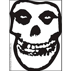 C&D Visionary Misfits Skull Sticker (S-1702)