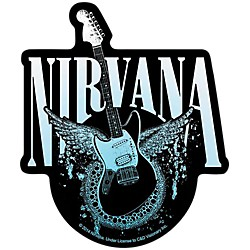 C&D Visionary Nirvana Guitar with Eagle Sticker (S-7853)