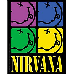 C&D Visionary Nirvana Smiley-face Color Sticker (S-7856)
