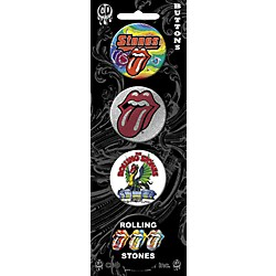 C&D Visionary Rolling Stones Button set (4 piece) (B5398)