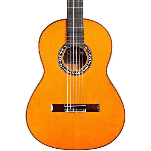 Cordoba C10 Parlor CD Nylon String Acoustic Guitar-thumbnail