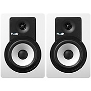 """Fluid Audio C5BT 5"""" Bluetooth Studio Monitor - White (Pair)"""
