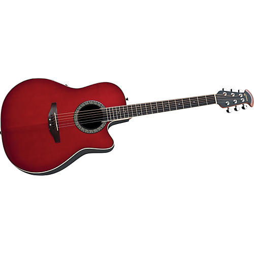 Ovation CA24S-HB Celebrity Mid-Depth Solid Top Acoustic-Electric Guitar-thumbnail