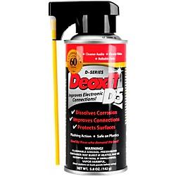 CAIG DeoxIT D5S-6 Spray, Contact Cleaner / Rejuvenator, 5 oz. (D5S-6)