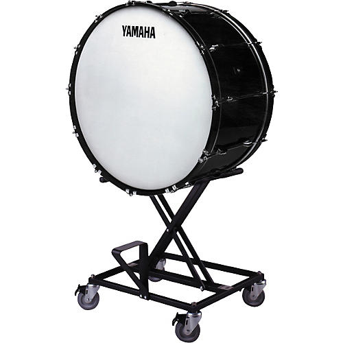 Yamaha CB-628 Concert Bass Drum With BS425 Stand & Cover-thumbnail