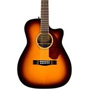 Fender CC-140SCE Acoustic-Electric Guitar W/Case