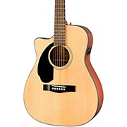 Fender CC-60SCE LH Left-Handed Acoustic-Electric Guitar