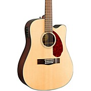Fender CD-140SCE-12-String  Acoustic-Electric Guitar W/Case