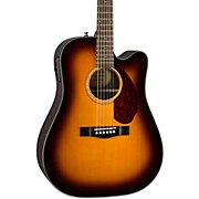 Fender CD-140SCE Acoustic-Electric Guitar W/Case